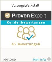 Finanzberater in Freising Auszeichnung - ProvenExpert