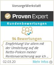 Finanzberater in Landshut & Freising Auszeichnung - Proven Expert