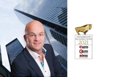Finanzberater des Jahres – Armin Ammer mit Auszeichnung 2021