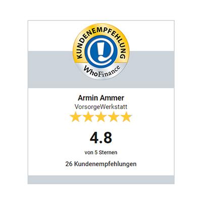 Finanzberater in Landshut & Freising Auszeichnung - Whofinance